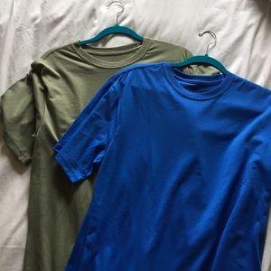 Set of two unisex cotton shirts